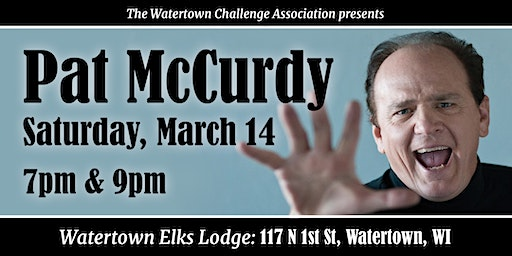 Pat McCurdy at the Elks Lodge