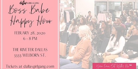 Boss Babe Happy Hour - Come Together at The Riveter tickets
