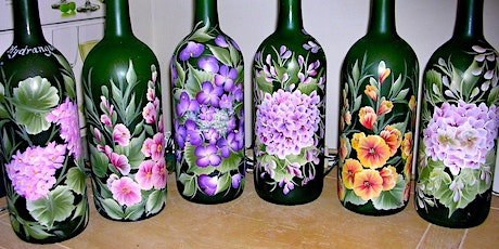 Paint and  Create:  Wine Bottle Art tickets