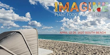 IMAGINE PLANT FOOD & WINE FESTIVAL tickets