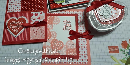 """Love you Lots"" Valentine's Card Workshop!"