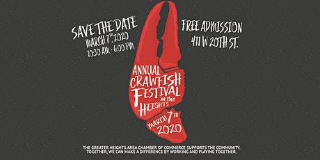 Heights Crawfish Festival - OFFICIAL tickets