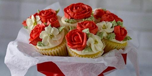 Valentine cupcake bouquet class