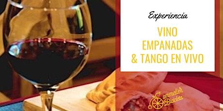 Vino, Empanadas y Tango entradas