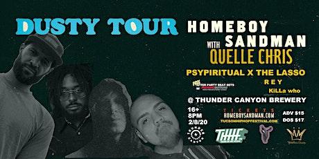 #THHF20 Presents:  Homeboy Sandman, Quelle Chris, PSYPIRITUAL  x  The Lasso tickets