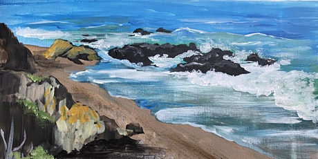 Paint the central coastline in Cambria! tickets