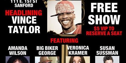 Free Vince Taylor Comedy Show