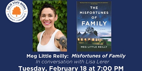 Meg Little Reilly: Misfortunes of Family tickets