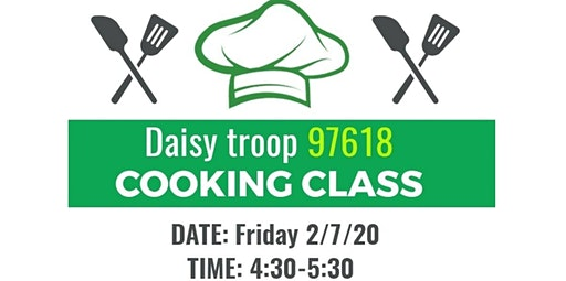 PRIVATE EVENT: Daisy troop 97618 (02-07-2020 starts at 4:30 PM)