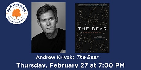 Andrew Krivak: The Bear tickets
