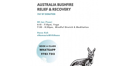Fundraiser for Australia Bushfires - Meditation tickets