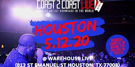 Coast 2 Coast LIVE Artist Showcase Houston Edition - $50K in Prizes! tickets