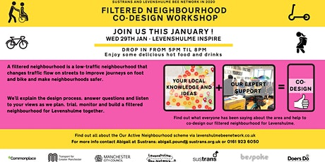 Levy Bee Network - Filtered Neighbourhood Co-Design Workshop with Sustrans tickets