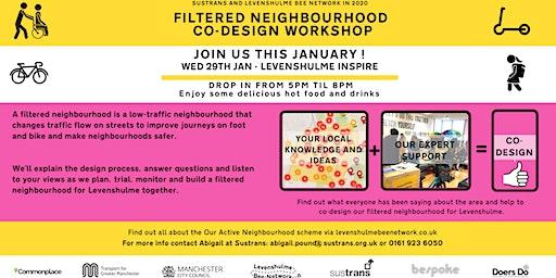 Levy Bee Network - Filtered Neighbourhood Co-Design Workshop with Sustrans