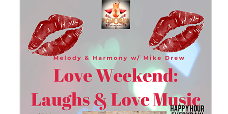 Love Weekend: Laughs & Love Music tickets
