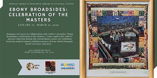 Opening Reception : Ebony Broadsides Celebration of the Masters