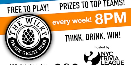Trivia Tuesdays at The Wilky tickets