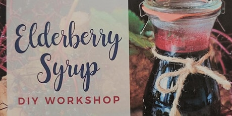 DIY Workshop: Making Elderberry Syrup tickets