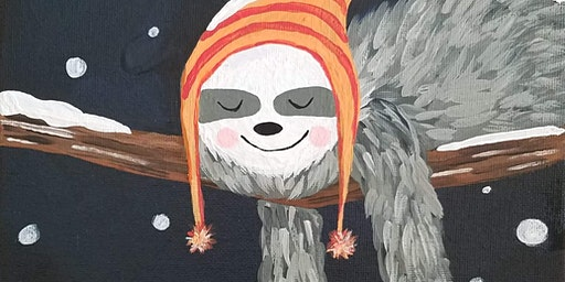Paints & Pints at 7 Dogs Brew Pub - Sleepy Winter's Day w/ Abby Wilner