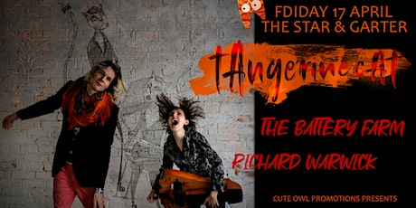tAngerinecAt//The Battery Farm//Richard Warwick tickets