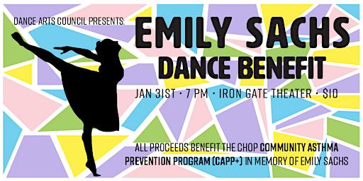 Emily Sachs Dance Benefit 2020