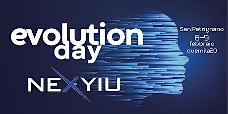 EVOLUTION DAY NEXYIU - Founders biglietti