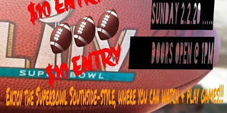 Southside Playhouse Superbowl Party tickets