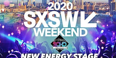 2020 SXSW NEW ENERGY STAGE tickets