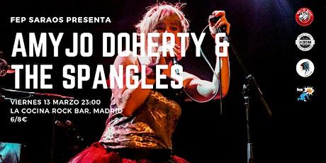 Amyjo Doherty & The Spangles @ La Cocina Rock Bar, Madrid entradas