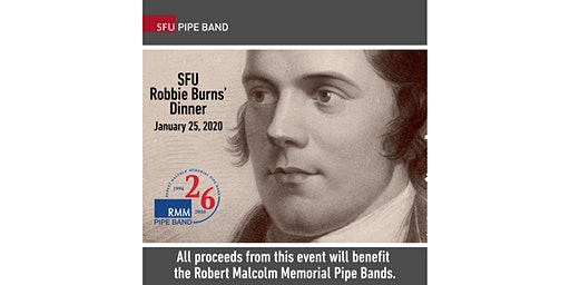 SFU Pipe Band - Robbie Burns' Dinner 2020