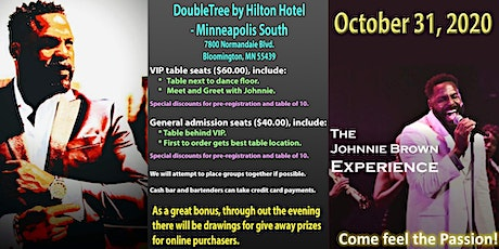 "Halloween ""Scary Dance"" - a Johnnie Brown Experience tickets"