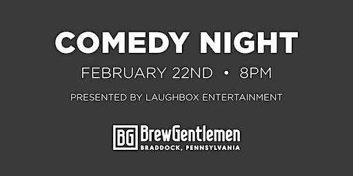 Stand Up Comedy at Brew Gentlemen