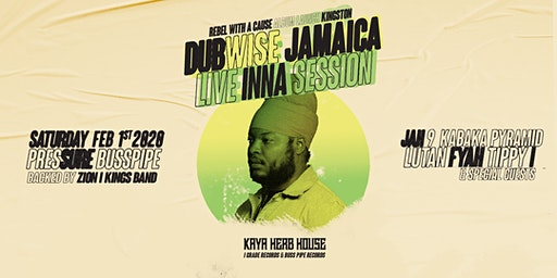 Dubwise Jamaica LIVE INNA SESSION feat Pressure Buss Pipe & more!