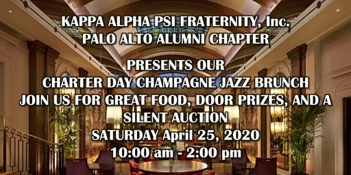 Palo Alto Alumni of Kappa Alpha Psi Champagne Jazz Brunch