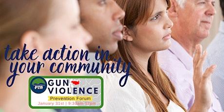 Thirty-Second District Gun Violence Prevention Forum tickets