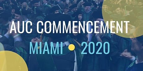 2020 AUC Commencement Ceremony tickets