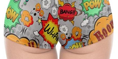 Sewing Ladies Cheeky Underwear Shorts tickets