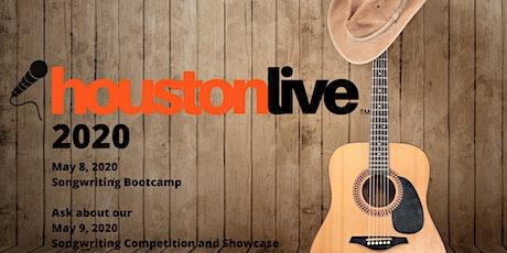 HoustonLive™ Songwriter Bootcamp 2020 tickets