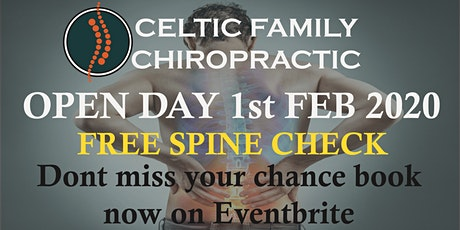 Celtic Family Chiropractic Open Day tickets