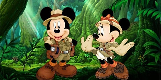 Join Mickey and Minnie on a Safari Adventure!