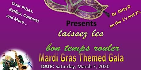 Mardi Gras Themed  Gala 2020 tickets