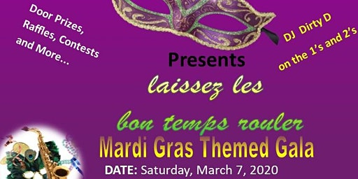 Mardi Gras Themed  Gala 2020