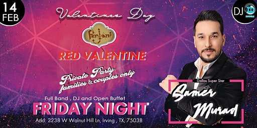 RED VALENTINE - PRIVATE PARTY
