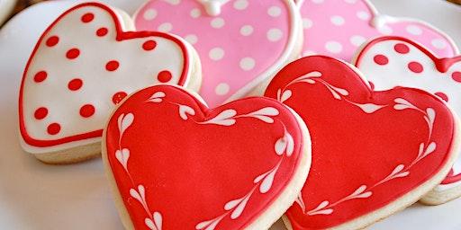 Valentine's Day kids baking class for kids 5+