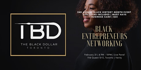 Black Entrepreneurs Networking | 2nd Annual Black History Month Event tickets