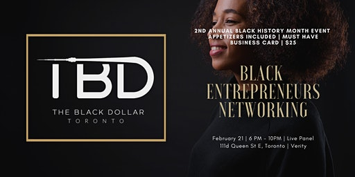 Black Entrepreneurs Networking | 2nd Annual Black History Month Event