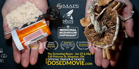 DOSED - award winning documentary about psychedelics at The Screening Room! tickets