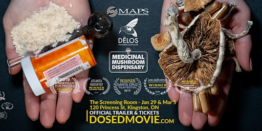 DOSED - award winning documentary about psychedelics at The Screening Room!