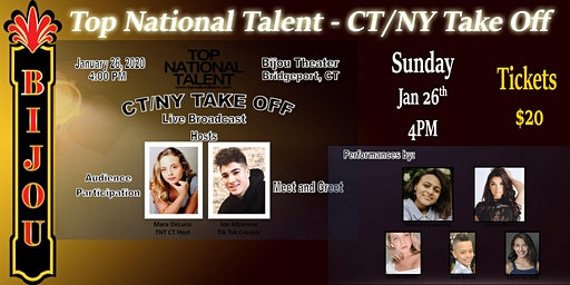 Top National Talent - CT/NY Take Off