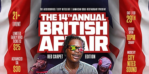 14th Annual British Affair